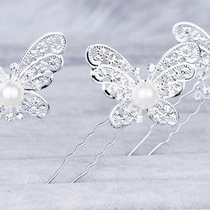 Hollow Out Butterfly Hair Pin -