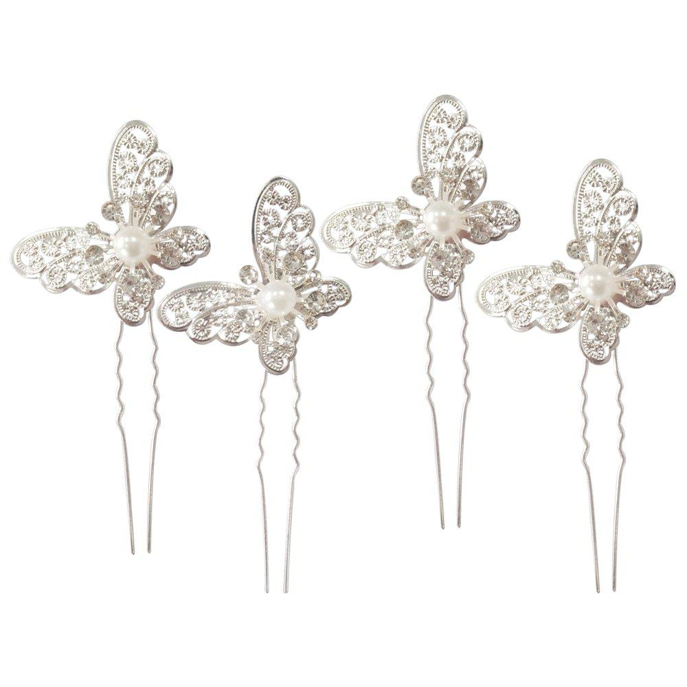 Outfit Hollow Out Butterfly Hair Pin