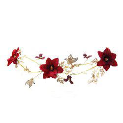 New Style Flower Butterfly Head Decoration -