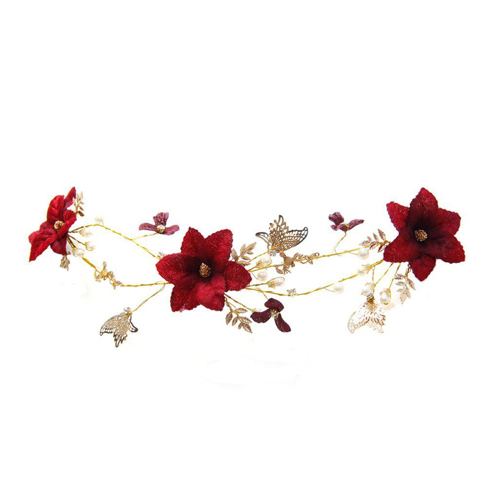 Discount New Style Flower Butterfly Head Decoration