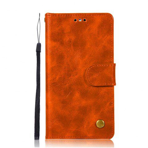 Outfits Luxurious Retro Fashion Flip Leather Case PU Wallet Cover Cases For Huawei Y5 2017 Smart Cover Phone Bag with Stand