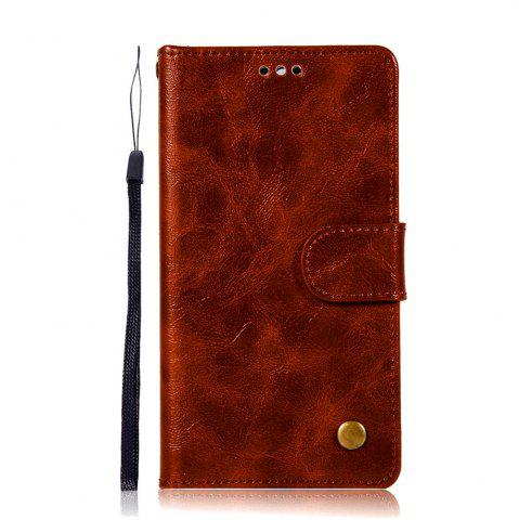Sale Luxurious Retro Fashion Flip Leather Case PU Wallet Cover Cases For Huawei Y5 2017 Smart Cover Phone Bag with Stand