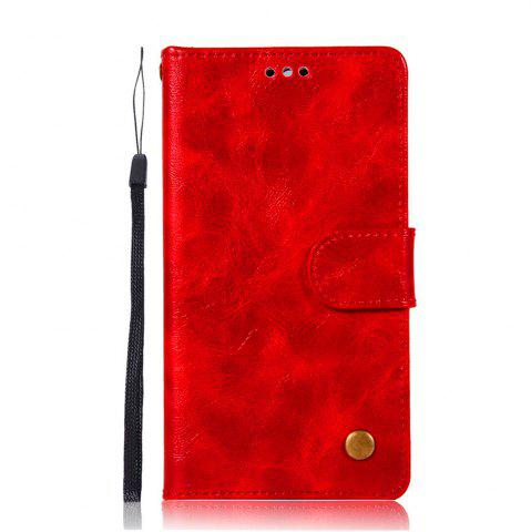 Outfit Luxurious Retro Fashion Flip Leather Case PU Wallet Cover Cases For Huawei Y5 2017 Smart Cover Phone Bag with Stand