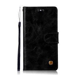 Luxurious Vintage     Fashion Flip Leather Case PU Wallet Cover Cases For Huawei Y5 2017 Smart Cover Phone Bag with Stand -
