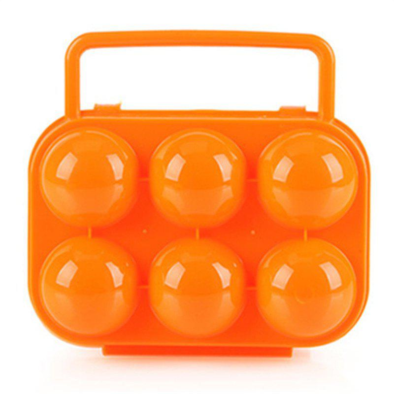 Shop Outdoor Picnic Portable Plastic 6 Case Egg Box