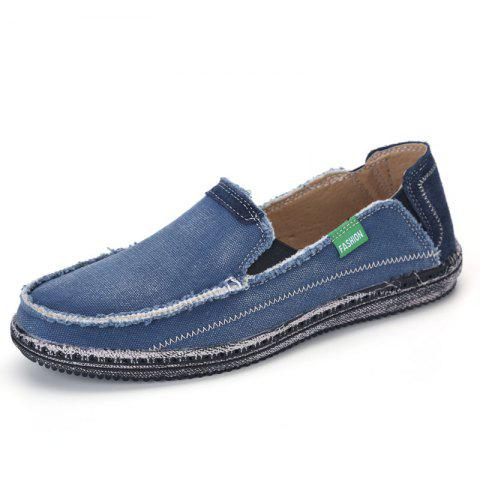 Fashion Canvas Men Loafers Summer Slip on Leisure Hiking Casual Beach Sport Sneakers