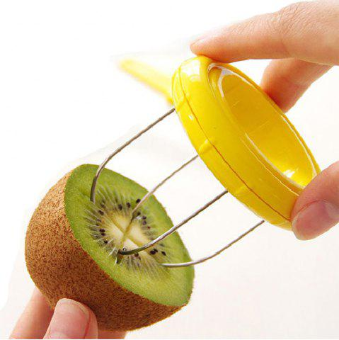 New Stainless Steel Kiwi Skin Remover 2pcs