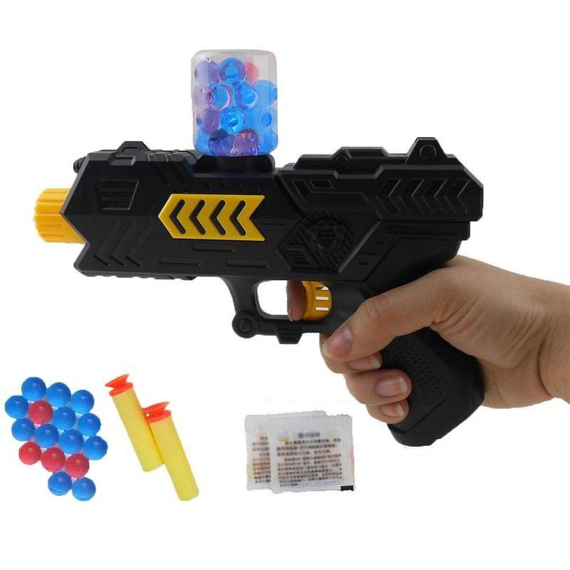 Fancy Simulation 2 in 1 Soft Bullet Shooter Water Ball Toy Gun