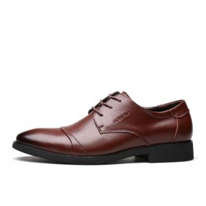 Men Soft Pointed Toe Offical Business Shoes -