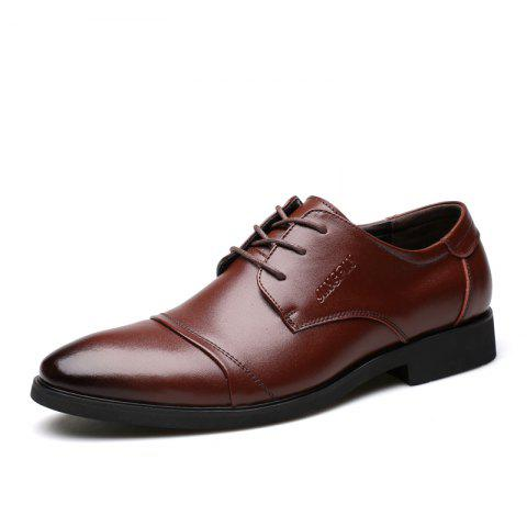 Sale Men Soft Pointed Toe Offical Business Shoes