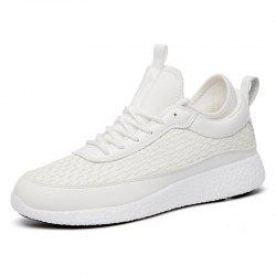 Breathable Lace Up FlatsSneakers Athletic Outdoor Casual Running Shoes -