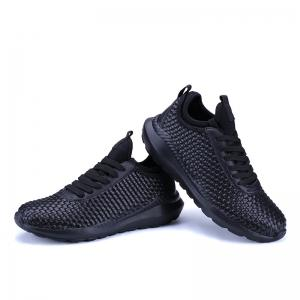 Breathable Lace Up FlatsSneakers Athletic Outdoor Casual Running Hiking Shoes -