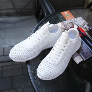 Chaussures respirantes à lacets respirant Sneakers Athletic Outdoor -
