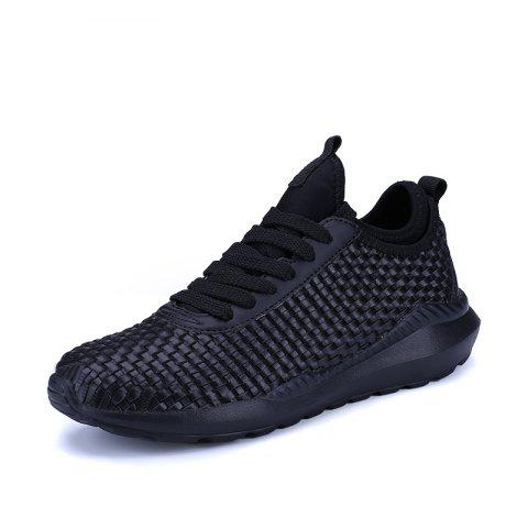 Fashion Breathable Lace Up FlatsSneakers Athletic Outdoor Casual Running Hiking Shoes