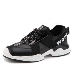 Mesh Respirant Chaussures Hommes Running Comfort Randonnée Lace Up Appartements Sneakers -