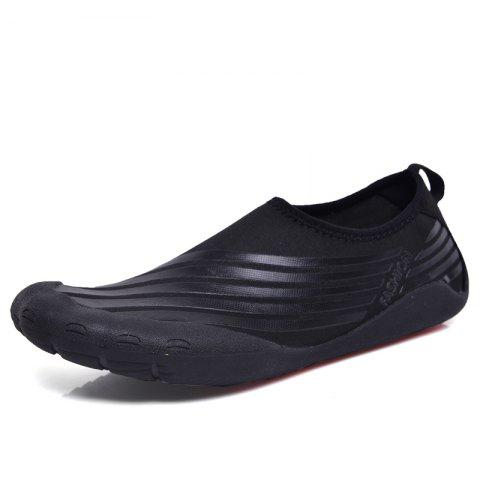 Unique Lightweight Swimming Breathable Shoes Men Beach Shoes Comfort FlatsSneakers
