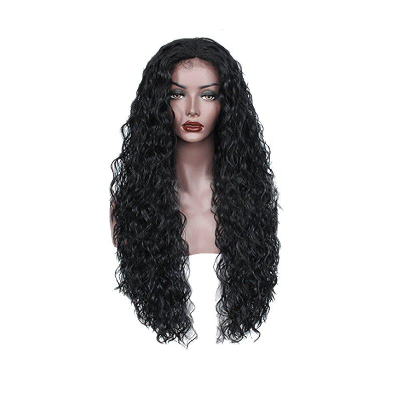 Best Black Curly Former Lace Wig for Women