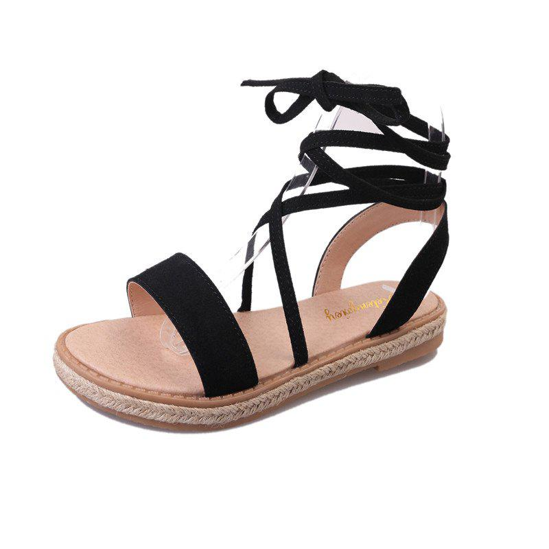 Store Strappy Sandals Women'S summer Flat Buckle