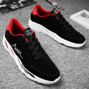 2018 électrocardiogramme hommes PU Bottom Exercise Shoes -