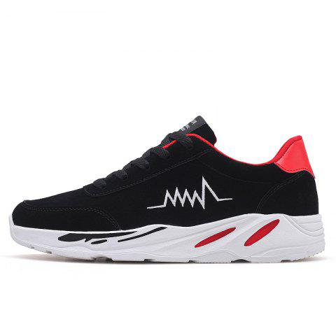 2018 électrocardiogramme hommes PU Bottom Exercise Shoes