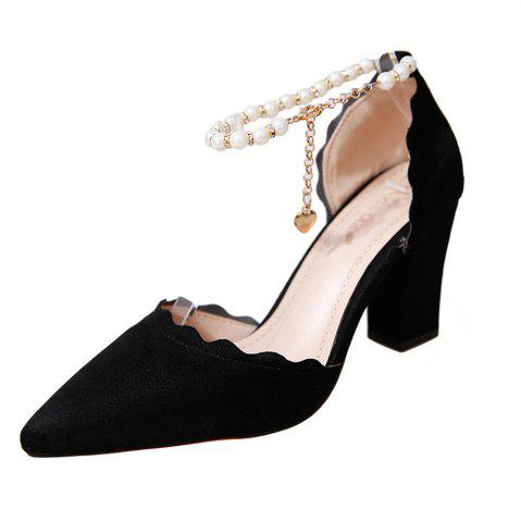 Shops Shallow Mouth Thin  Pointy Head Fashionable  Match Women's Shoes