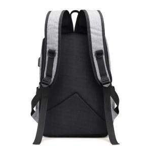 Men Backpack Anti-Theft External USB Charge Port For Laptop School Bags Male -
