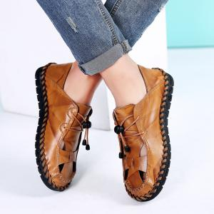 ZEACAVA Fashion Business Breathable Leather Shoes for Men -