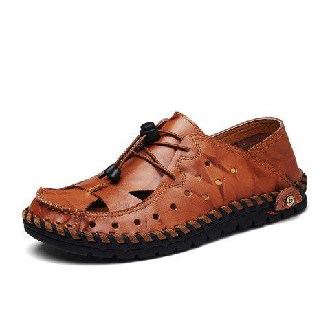 Buy ZEACAVA Fashion Business Breathable Leather Shoes for Men