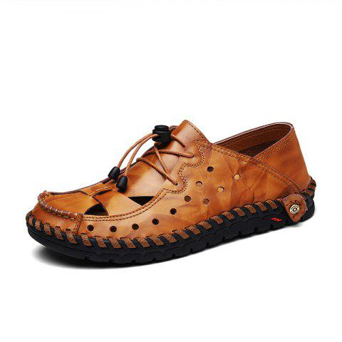 Hot ZEACAVA Fashion Business Breathable Leather Shoes for Men