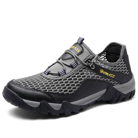 Store HOMASS Men Casual Hiking Wear Water Outdoor Mesh Climbing Breathable Shoes