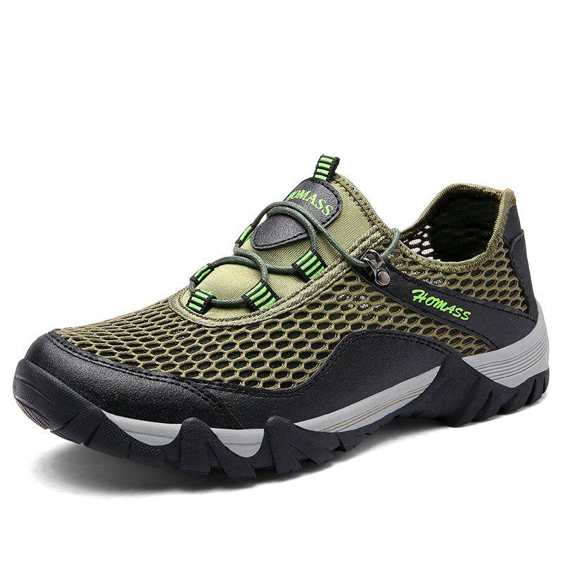Chic HOMASS Men Casual Hiking Wear Water Outdoor Mesh Climbing Breathable Shoes