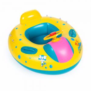 Inflatable Swimming Ring for Children with Horns -