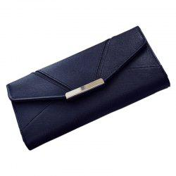 Ladies Fashion  Long PU Leather Clutch Purse Card Holder Wallet -