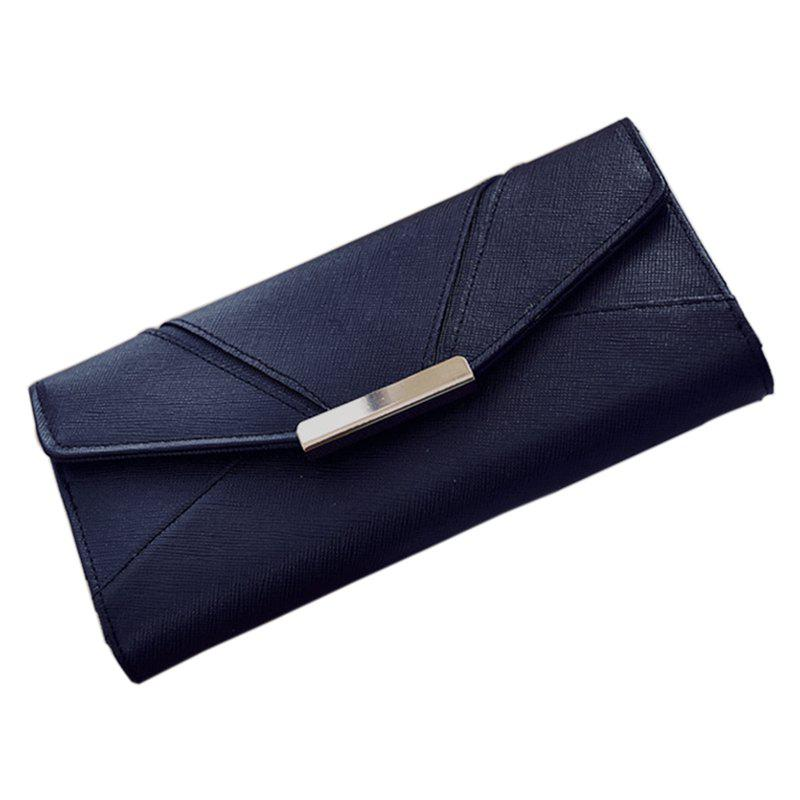 Shop Ladies Fashion  Long PU Leather Clutch Purse Card Holder Wallet
