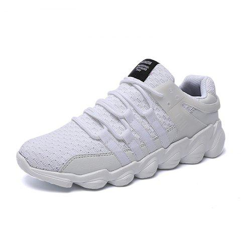 Buy Flying Woven Ivory Sports Shoes