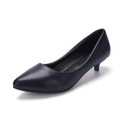 Black Pointy Heels  Women's Shoes -