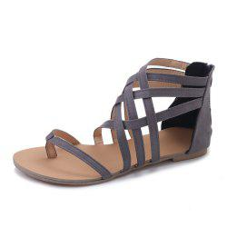 The Pine-toed Hollow With Roman Sandals -