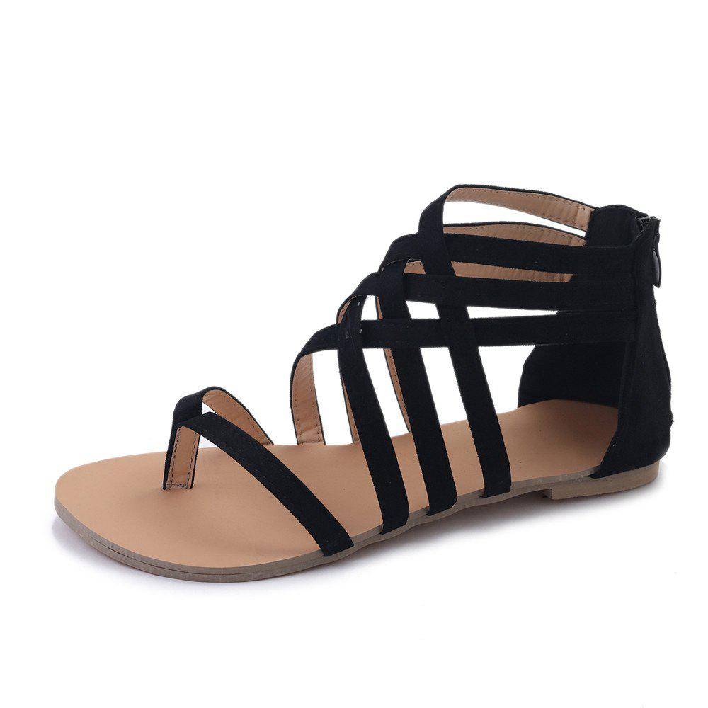 Fancy The Pine-toed Hollow With Roman Sandals