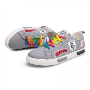 New Fashion Youth Colorful Lace Canvas Shoes -