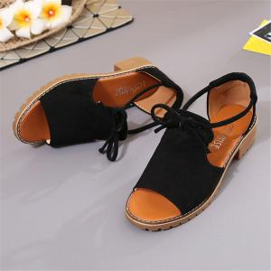 Students Flat and Soft Sole Roman Beach Women's Shoes -