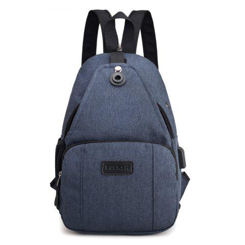 Chic Backpacks USB Charging Men Laptop Bags Fashion Male Travel Backbag