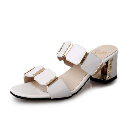 Trendy The Flip-flops Fish-mouth Sandals