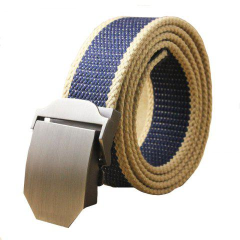 Trendy Hot Male Tactical Belt Top Quality Casual Canvas Outdoor Automatic Buckle