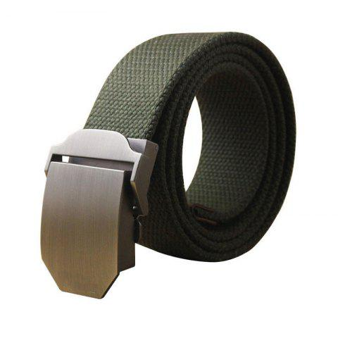 Fancy Hot Male Tactical Belt Top Quality Casual Canvas Outdoor Automatic Buckle