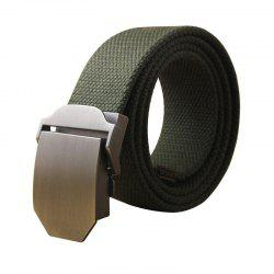 Hot Male Tactical Belt Top Quality Casual Canvas Outdoor Automatic Buckle -