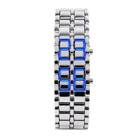 New Stainless Steel Men Digital Watches
