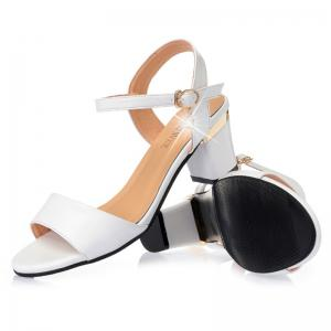 buy cheap pay with paypal Summer Women PU Casual Block Heel Sandals Solid Color Wild Shoes discount 2014 unisex clearance limited edition hQET4PH