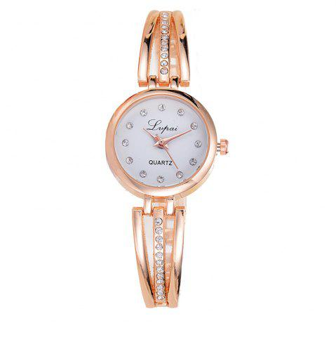 Cheap Lvpai P173 Women Alloy Quartz Wrist Watch with Rhinestones
