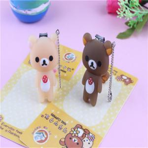 New Portable Cartoon Bear Nail Scissors Manicure Tool -