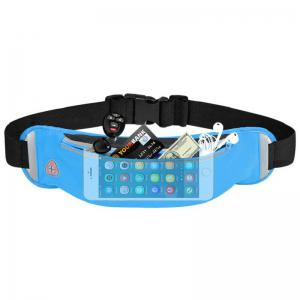 Waterproofed Breathable Waist Bag for Outdoor Sports Mountaineering Running -